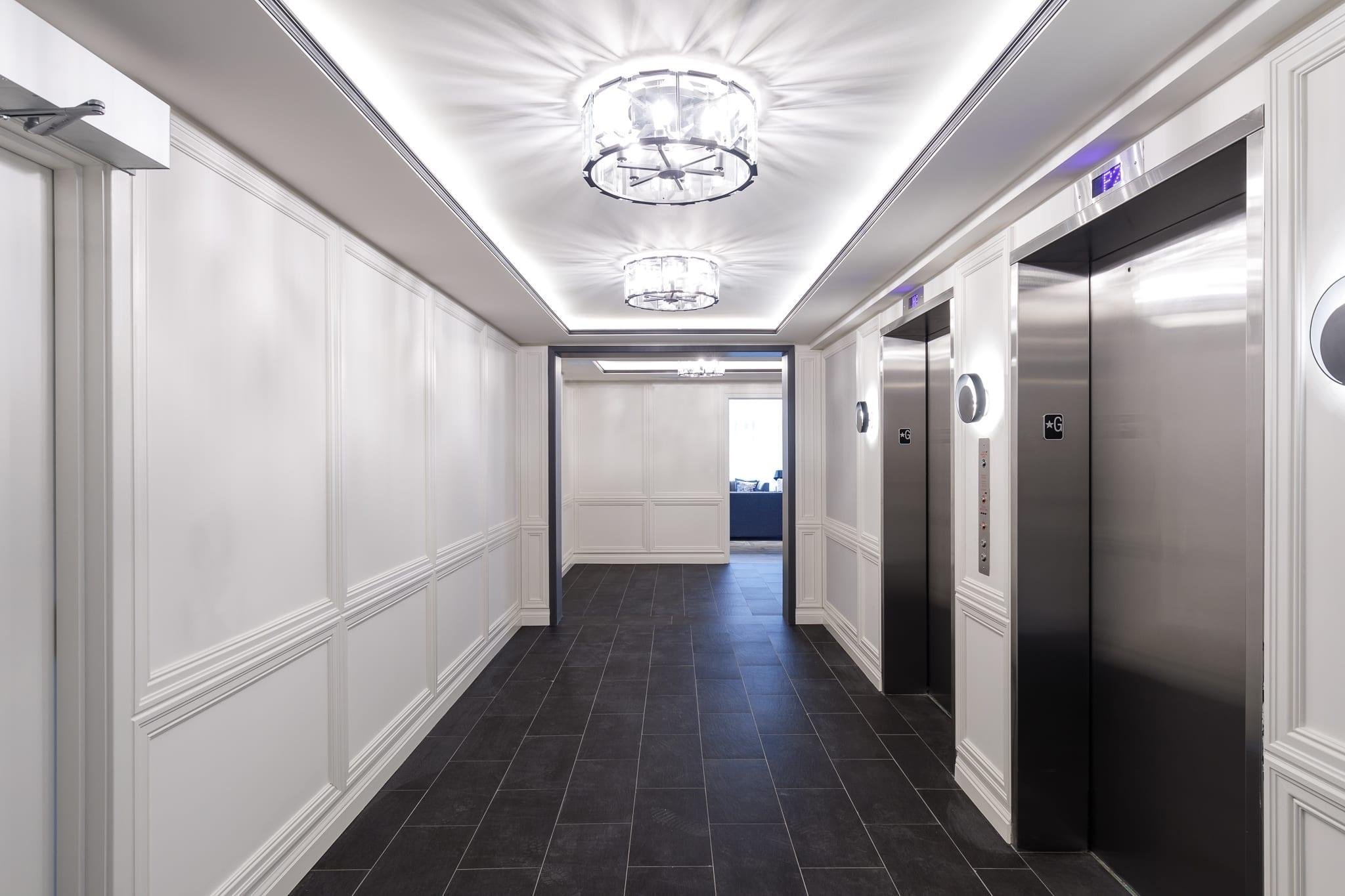 Taunton Elevator Lobby