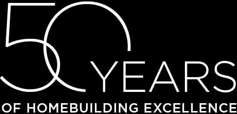 50 YEARS or HOMEBUILDING EXCELLENCE